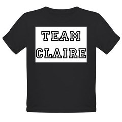 TEAM CLAIRE Infant Creeper Organic Toddler T-Shirt (dark)