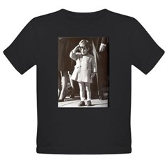 JFK Jr. Organic Toddler T-Shirt (dark)