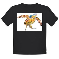 Sea Turtles Organic Toddler T-Shirt (dark)