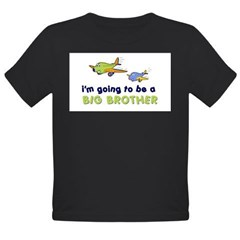::: Big Brother Secret Plane ::: Organic Toddler T-Shirt (dark)