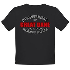 Great Dane Security Organic Toddler T-Shirt (dark)