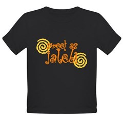 Sweet as Jalebi Organic Toddler T-Shirt (dark)