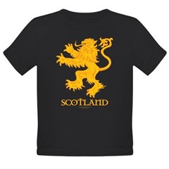 Scottish Lion by Russ Fagle Organic Toddler T-Shirt (dark)