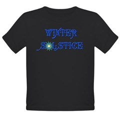 Winter Solstice Organic Toddler T-Shirt (dark)