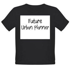 Future Urban Planner Organic Toddler T-Shirt (dark)