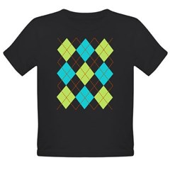 Argyle T-shirt Organic Toddler T-Shirt (dark)
