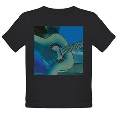 Acoustic Riffs Organic Toddler T-Shirt (dark)