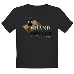 Grand Master in Training Organic Toddler T-Shirt (dark)