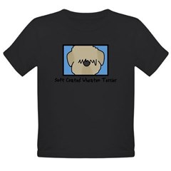 Anime Soft Coated Wheaten Terrier Baby Bodysuit Organic Toddler T-Shirt (dark)