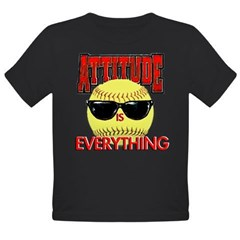 Attitude is Everything Organic Toddler T-Shirt (dark)