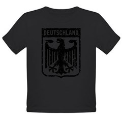 Deutschland Coat of Arms Organic Toddler T-Shirt (dark)