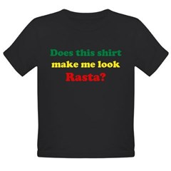 Make Me Look Rasta Organic Toddler T-Shirt (dark)