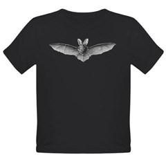 Bat 1 Organic Toddler T-Shirt (dark)