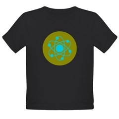 Atom Organic Toddler T-Shirt (dark)