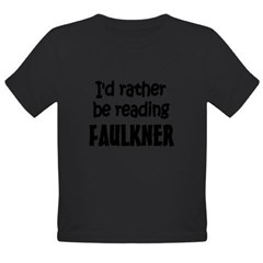 Faulkner Organic Toddler T-Shirt (dark)