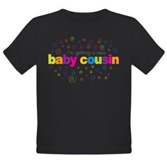 baby cousin Organic Toddler T-Shirt (dark)