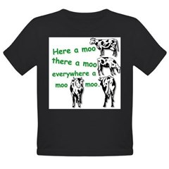 MooMoo HR.jpg Organic Toddler T-Shirt (dark)