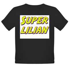 Super lilian Organic Toddler T-Shirt (dark)