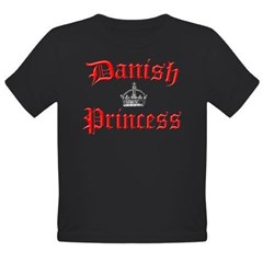 Danish Princess Organic Toddler T-Shirt (dark)