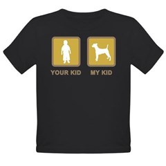 Smooth Fox Terrier Organic Toddler T-Shirt (dark)