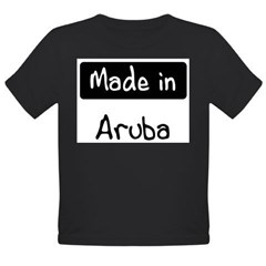 Made in Aruba Organic Toddler T-Shirt (dark)