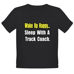 """..Sleep w/ Track Coach"" Organic Toddler T-Shirt (dark)"