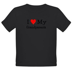 I Love My T Shirts: Organic Toddler T-Shirt (dark)