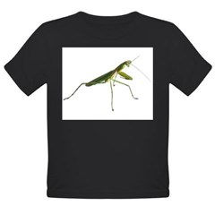 Praying Mantis Infant Creeper Organic Toddler T-Shirt (dark)