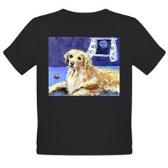 GOLDEN RETRIEVER senses moon Infant Creeper Organic Toddler T-Shirt (dark)