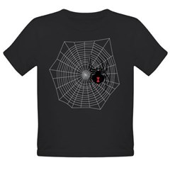Creep Crawly Spider We Organic Toddler T-Shirt (dark)