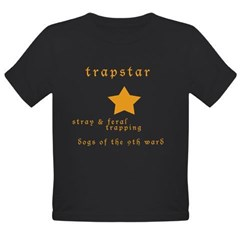 Trapstar: stray and feral tra Organic Toddler T-Shirt (dark)