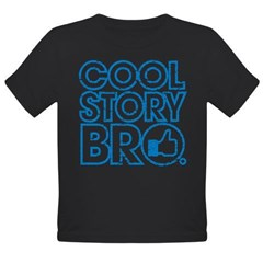 Cool Story Bro Organic Toddler T-Shirt (dark)
