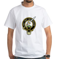 Clan Gunn black White T-Shirt