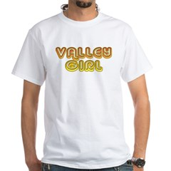 Valley Girl White T-Shirt