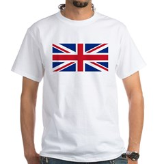 Union Jack White T-Shirt