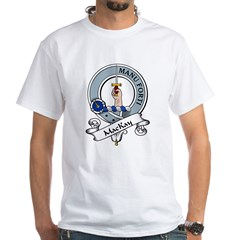 MacKay Clan Badge White T-Shirt