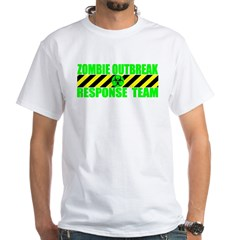 Zombie Outbreak Response Team White T-Shirt
