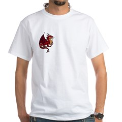 Dragons White T-Shirt
