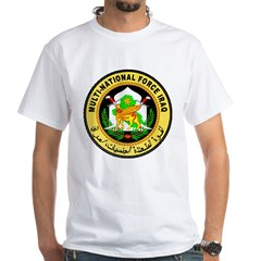 Iraq Force White T-Shirt