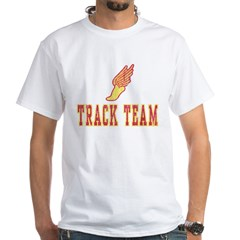 Track Team White T-Shirt