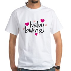 Baby Bump White T-Shirt