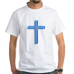 Cross White T-Shirt