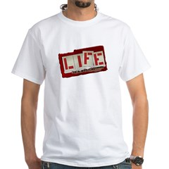 Musical Life White T-Shirt