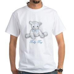 Baby Boy Lamb White T-Shirt