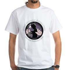 Stop Motion Animation Women's Black White T-Shirt