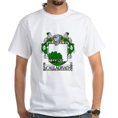 Callaghan Coat of Arms White T-Shirt
