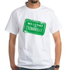 Welcome to Tromaville White T-Shirt