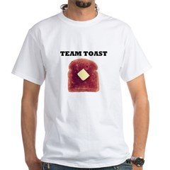 TEAM TOAST White T-Shirt