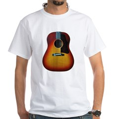 Gibson J-45 guitar White T-Shirt