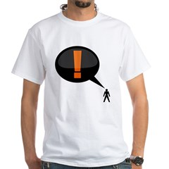 exclamation-dark White T-Shirt